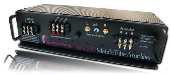 Milbert BaM-235ab Mobile Tube Amplifier